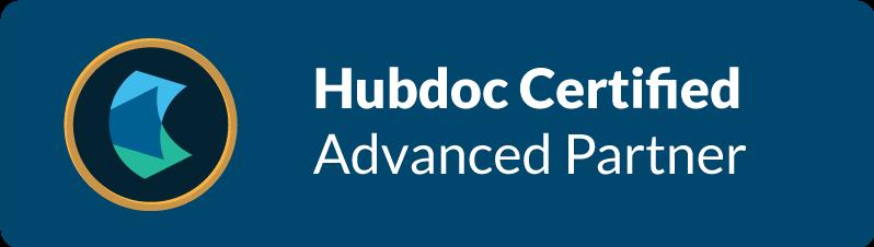 Hubdoc Advanced Certification