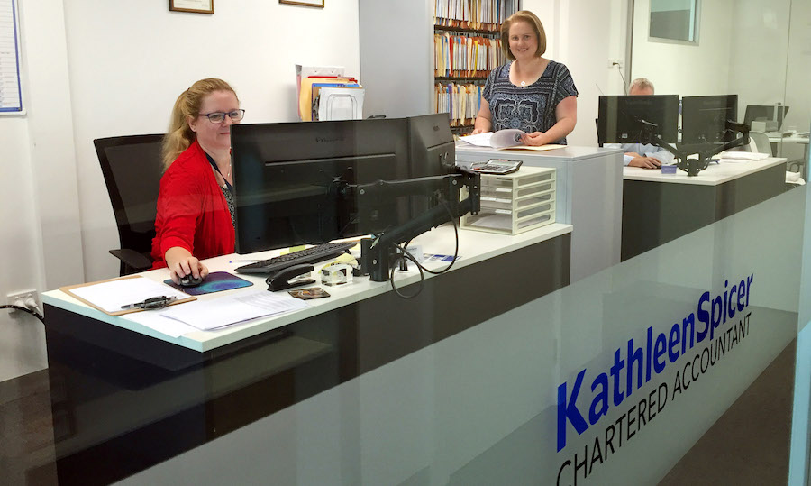 Kathleen Spicer's Accounting office, Nunawading